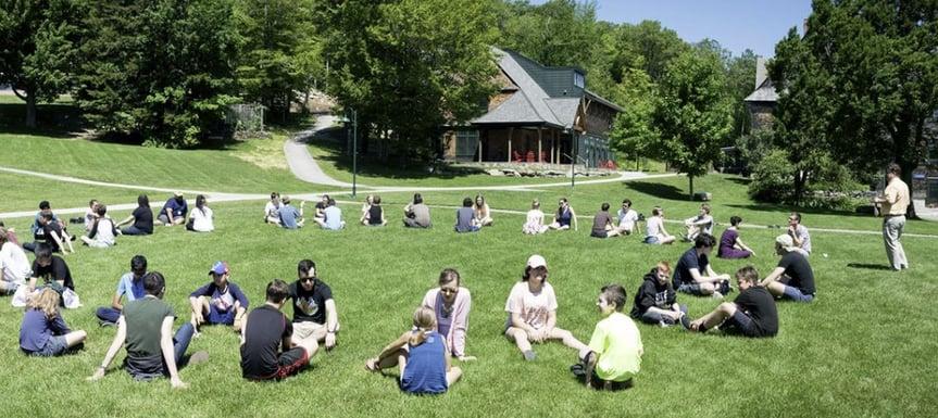 Unfiltered Kids in Grass